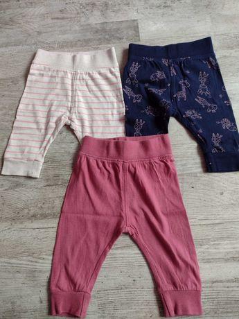 Spodnie dziecięce 62