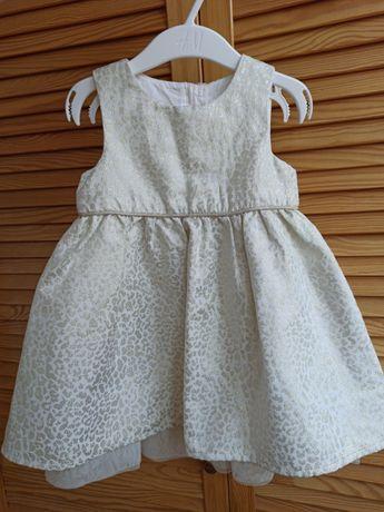 Нарядное платье от H&M на девочку 1-2 года.