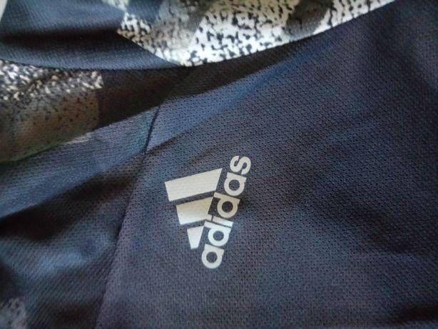 T shirts(s) running adidas preta