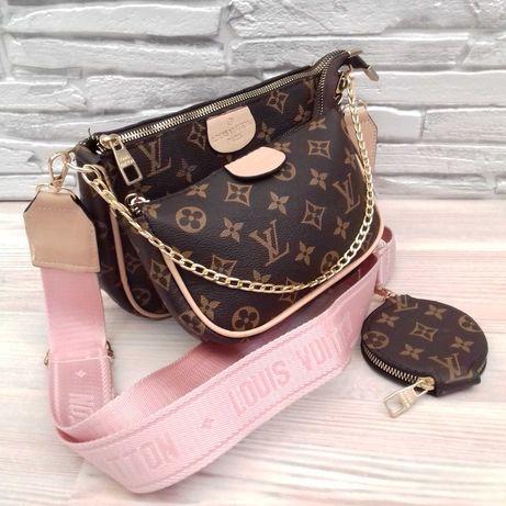 Женская сумка в стиле L.V Multi Pochette