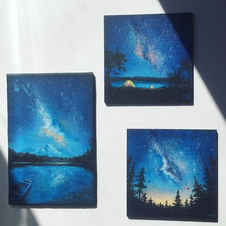 Картина, сет из трёх картин