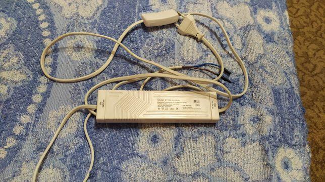 БП, Трансформатор для галогенок. С проводами, вилкой и выключателем.