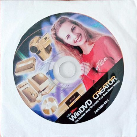 WinDVD Creator - CD ORIGINAL