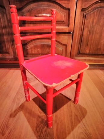 Krzesełko dla dziecka prl