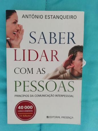 Livro saber lidar com pessoas António Estanqueiro