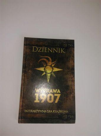 Nowe Interaktywne gry książkowe Dziennik wyprawa 1907