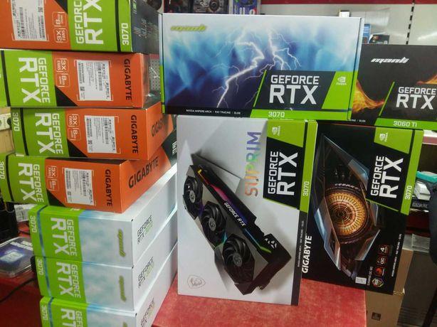Видеокарты RX 6800 580 5700 6700 6900 XT RTX 1660 3060 3070 3080 3090