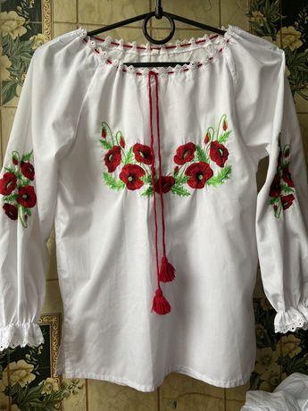 Вышиванка ,блузка,школьная блуза