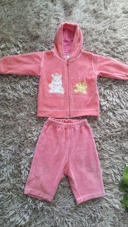 Bluza Dresy Spodnie roz. 86 różowe