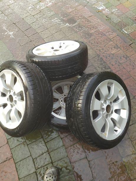 Продам титани з шинами до BMW