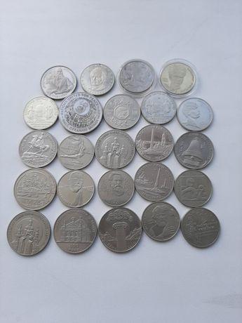 Ювілейні монети України (НБУ), монета, обмін