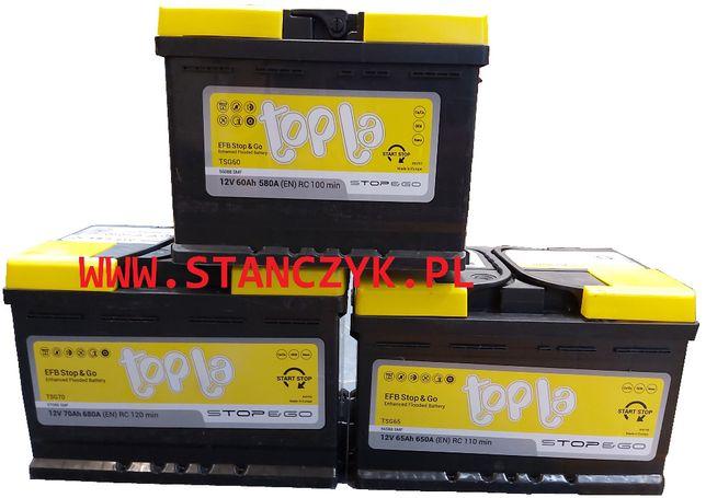 Akumulator Topla Top EFB Stop & Go 65 Ah 650 A