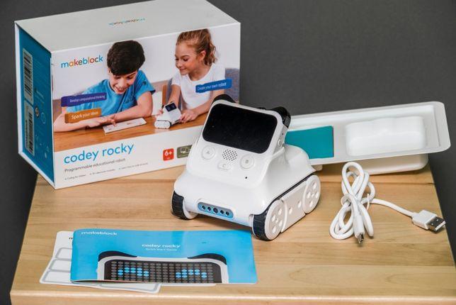 Robot dla dzieci do programowania Makeblock Codey Rocky