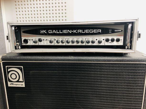 Gallien Krueger 1001Rb-II head basowy BiAmp Usa + case