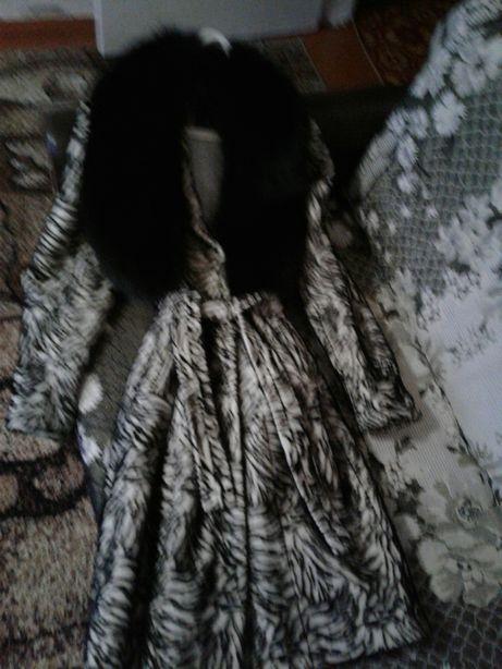 Зимнее пальто на девушку