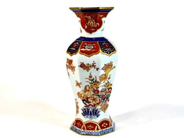 Jarra Vista Alegre, decoração Samurai.