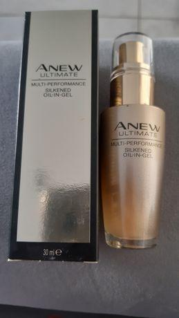 Odmładzający serum olejek A żelu Avon