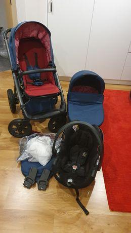 Wózek X-LANDER X-MOVE 3w1 kolor berry red