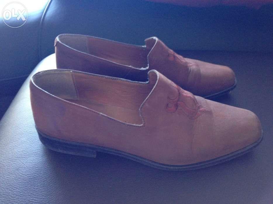 Sapatos de camurça castanhos Afife - imagem 1