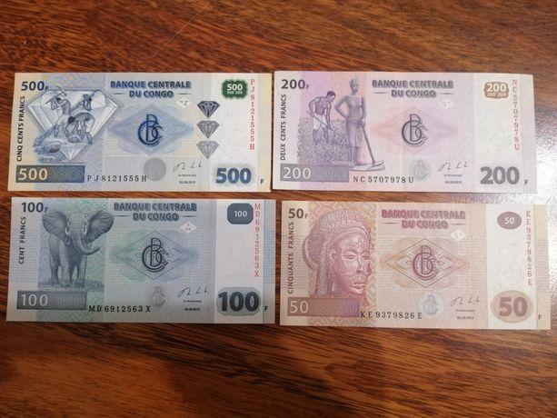 Банкноты ДР Конго