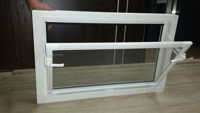 Okna Gospodarcze Inwestorskie PCV 60x40 Białe lub Brązowe WYSYŁKA