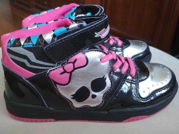 Яркие ботиночки монстр хай 34 р 22,2 см