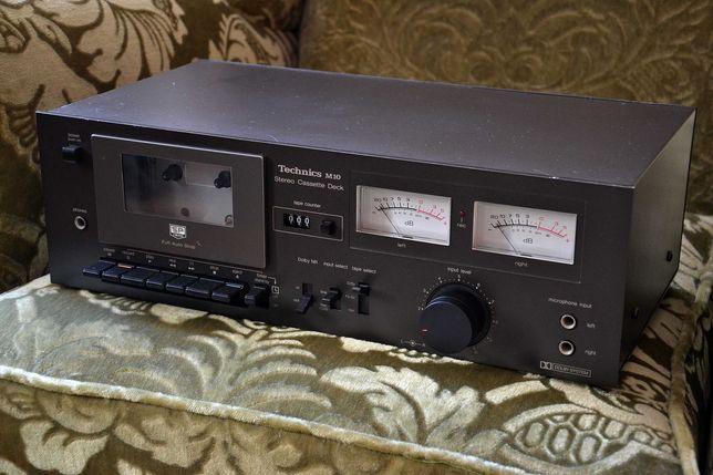 Magnetofon, deck - TECHNICS M10 - piekny klasyk