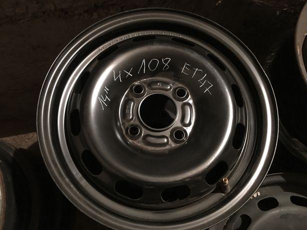 "Felgi Stalowe Ford 4x108 14"""