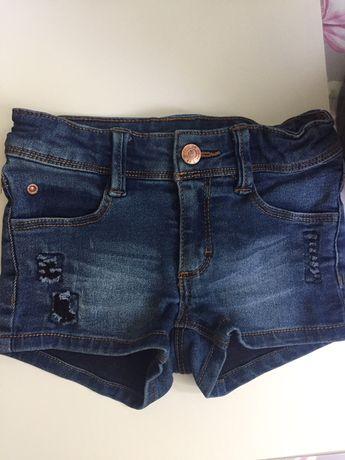 Spodenki jeansowe firmy esprit