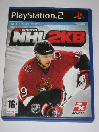 Gra NHL 2K8 PS2 Play Station 2 3xA