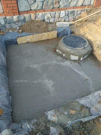 чистка сливных ям, строительство сливных ям, рестоврация сливных ям