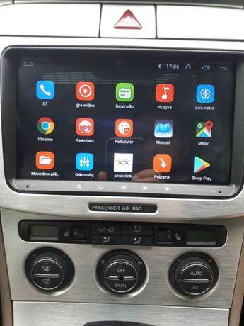 Nawigacja 2 DIN RADIO ANDROID 9.1 1 GB RAM VW passat B6 B7 golf 5 6