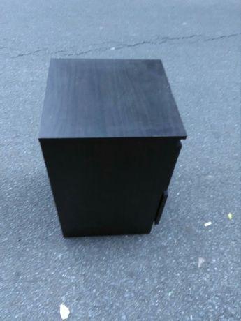 Modulo de gavetas preto