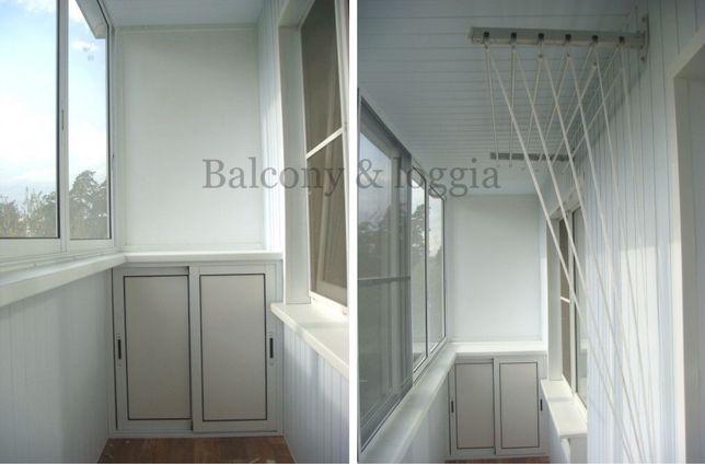 Балкон Под Ключ Остекление Обшивка изнутри и снаружи Утепление Ремонт