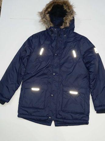 Тепла зимова курточка хлопцю YIGGA (теплая зимняя курточка) 158