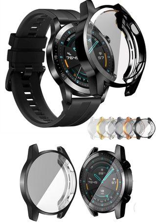 Capas silicone smartwatch Huawei Amazfit GTS 2 GTR 2 watch gt 2 46mm,