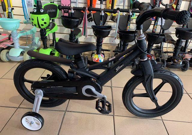 Детский велосипед алюминиевый с доп.колесиками