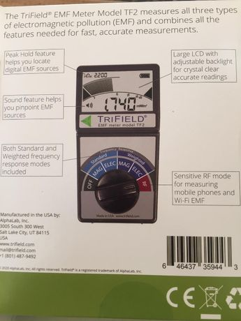 OKAZJA!!! Miernik 5G, pomiar promieniowania 5G, GSM, RF