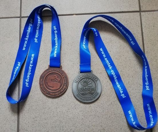 Medale sportowy do kolekcji