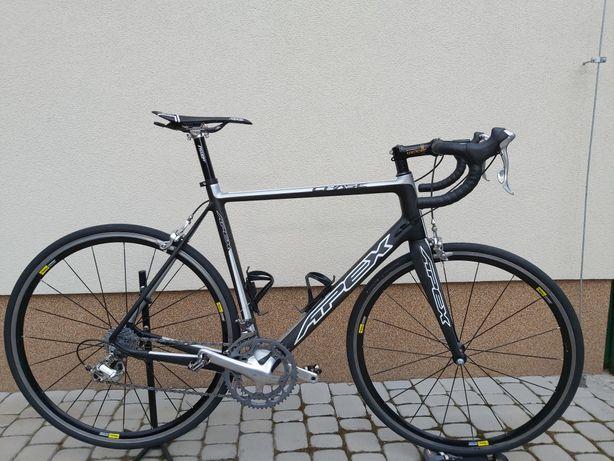 Rower szosowy, full carbon APEX. Kolarzówka.