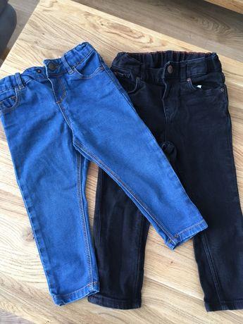 Spodnie jeansowe r.86