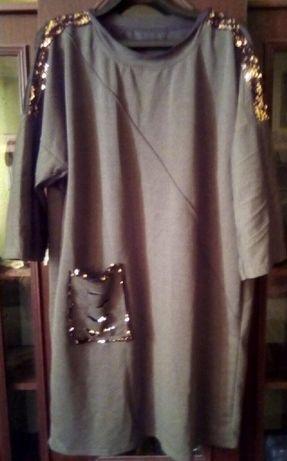 Платье Франц. трикотаж.