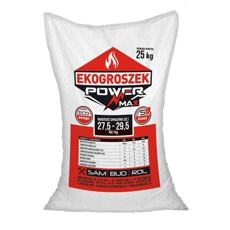 Ekogroszek POWER MAX (40x 25 kg) (KRA)