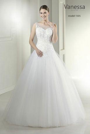 Zobacz... może ta suknia ślubna czeka na Ciebie Vanessa 1505