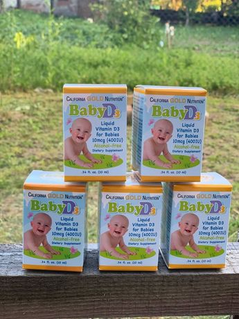 Витамин д3 / Вітамін д3 дитячий