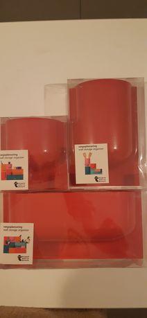 Dodatki pojemniki różności dom Czerwone