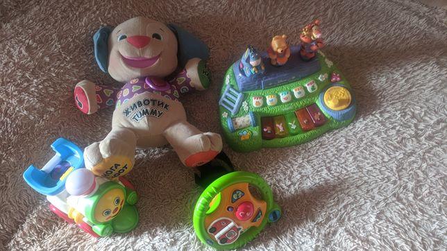 Розумне цуценя піаніно іграшки fisher price kiddieland