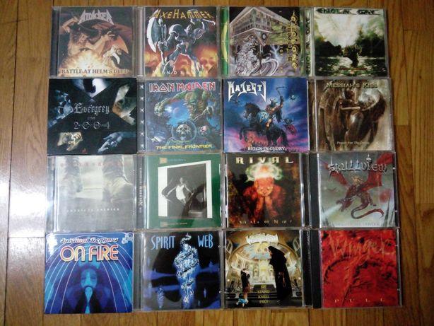 CDs Hard Rock e Heavy Metal - Rainbow, Queensryche, Winger e outros!