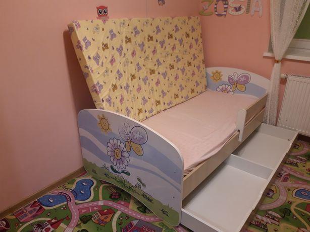 Łóżko dziecięce + materace