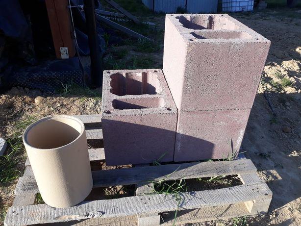 Komin ceramiczny Shiedel 3 pustaki + 1 wkład